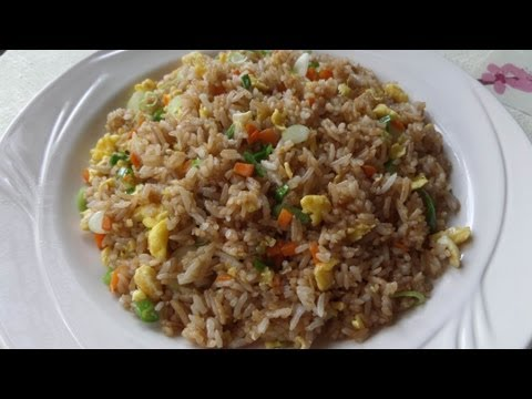 How to Make Fried Rice with Soy Sauce / Chow Rice / 醬油炒飯