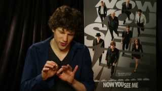 Jesse Eisenberg Does Some Magic From