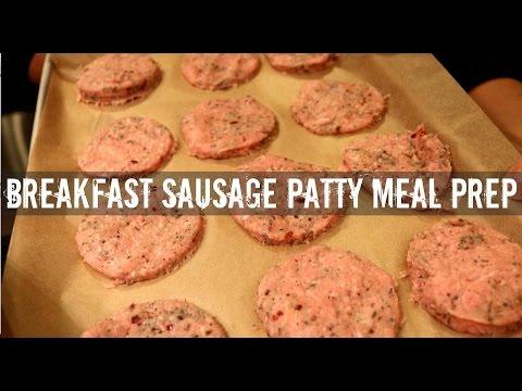 Convenient Breakfast Sausage Patties Meal Prep