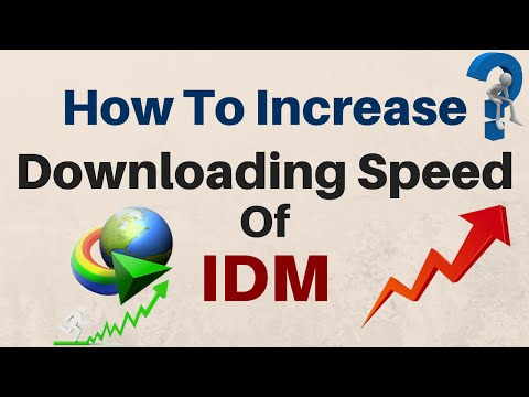 How To Increase The Downloading Speed of IDM Without Optimizer 2016