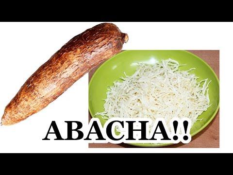 How to Make Abacha from Cassava | All Nigerian Recipes