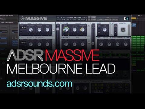 NI Massive Tutorial - Melbourne Bounce Lead