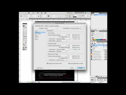 InDesign CS5: Exporting Files & Compressing Graphics
