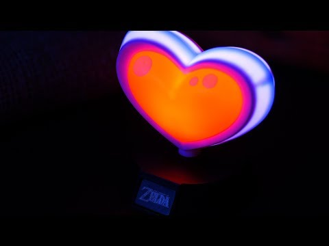 The Legend of Zelda Heart Container Icon Light | Paladone