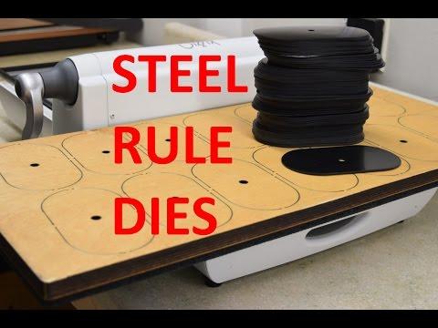 Making Gaskets is Seconds with Steel Rule Dies