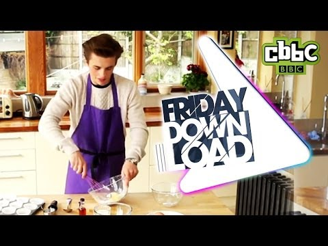 CBBC: Friday Download - How to make fairy cakes