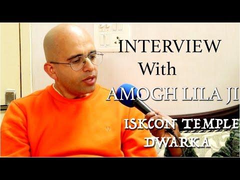 Exclusive Interview Of  Amogh Ji (Vice President) at ISKCON Temple,Dwarka New Delhi | Hindu Rituals