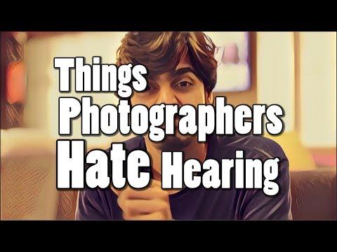 Things Photographers HATE hearing | Bekaar Films | Hillarious