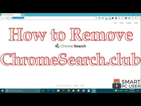 How to Remove ChromeSearch.club from All Browsers (Chrome, Firefox, Edge, IE)