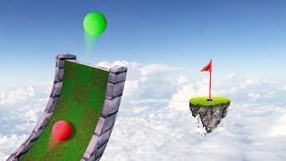 MILE HIGH HOLE IN ONES! (Golf It)