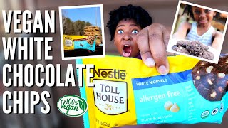 NEW Nestle VEGAN White Chocolate Chips + chicken nuggets, pizza \u0026 meatballs | VEESTRO Review