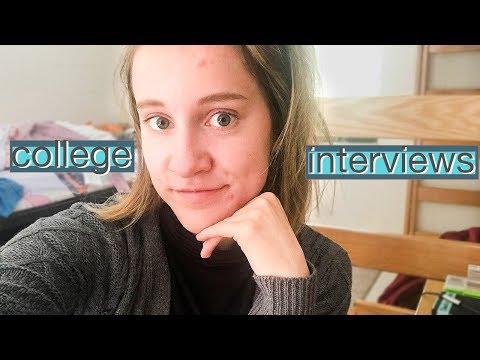 how to ace college interviews!