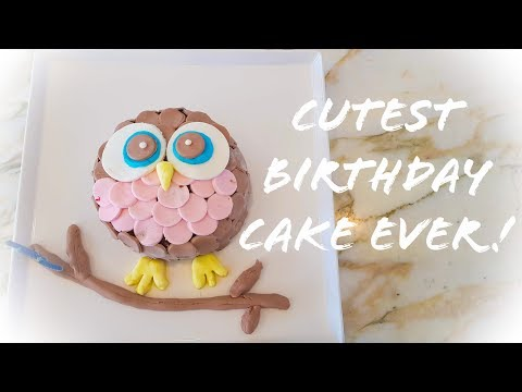 Cutest Owl Cake | Best Cake Ever !
