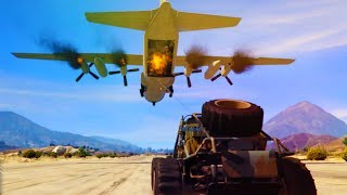 GTA 5 - THESE MISSIONS ARE NUTZ! (Gunrunning DLC!)