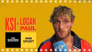 'I don't feel I lost' Logan Paul emotional locker room interview | BBC Sport
