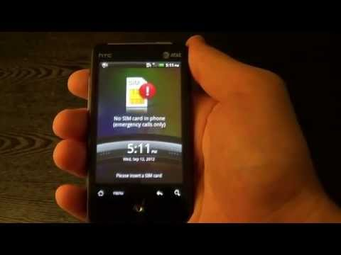 How to unlock HTC aria AT&T T-mobile