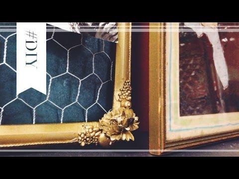 Dorm Room DIY   Repurposed Frames