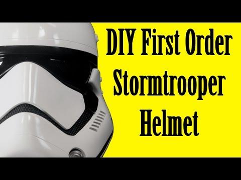 How to Make a First Order Stormtrooper Helmet (DIY)