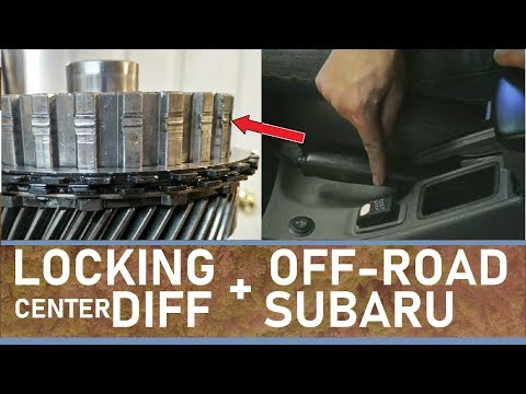 Why your Off-road Subaru needs a locking center differential and how to install one for free