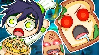 ATTACK OF THE UNBREAD IN OVERCOOKED 2!
