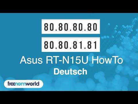Freenom World Asus RT-N15U HowTo (German)