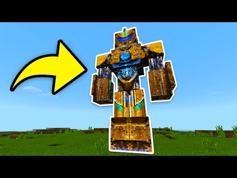 I found BUMBLEBEE from Transformers in Minecraft Pocket Edition UPDATE! (Addon/MOD)