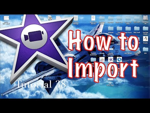 How to Import from External Drive to iMovie 10.0.3 | Tutorial 38
