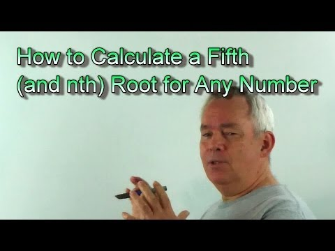 How to Approximate the nth Root of Any Number