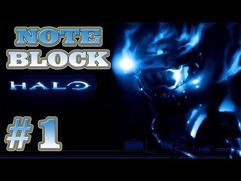 Minecraft Xbox 360 How to Build Halo Theme Part 1 (Note Blocks)