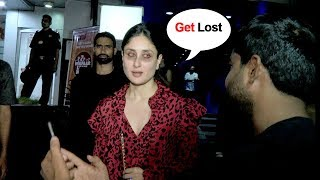 DRUNK Kareena Kapoor Shows Unbelievable ATTITUDE To A FAN Asking For A Simple Selfie