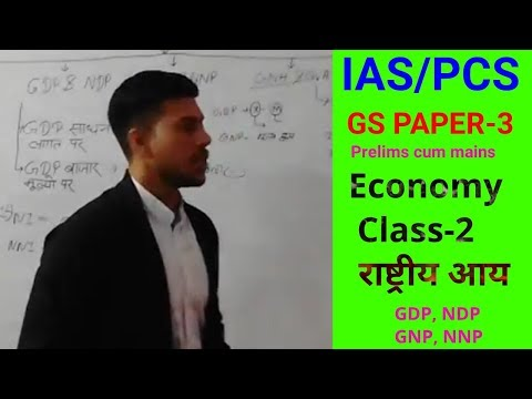 Economy Class 2 राष्ट्रीयआय GDP,NDP,GNP,NNP.