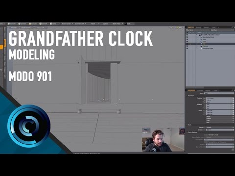 Grandfather Clock Intro - Modeling/Getting Started