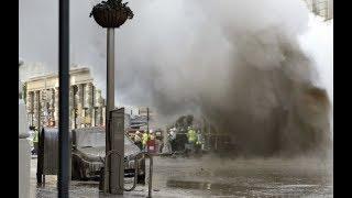 "Breaking ""Explosion Rocks Manhattan"" Hugh Crater"