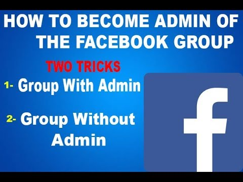 Tricks Of Becoming Group Admin on facebook