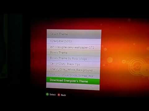 Create Your Own Xbox360 Premium Themes