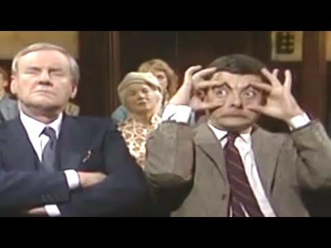 Falling Asleep in Church | Mr. Bean Official