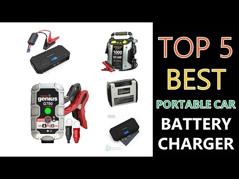 Best Portable Car Battery Charger 2018