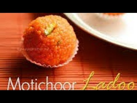 Easy motichoor ladoo recipe in tamil | how to make motichoor ladoo at home | Indian sweets