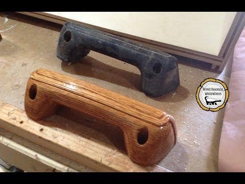 Woodworking:  Custom Wooden Car Door Handles