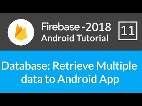Android Studio Firebase Backend Tutorial #11 - OAuth: Saving Login State & Setting Up Activities