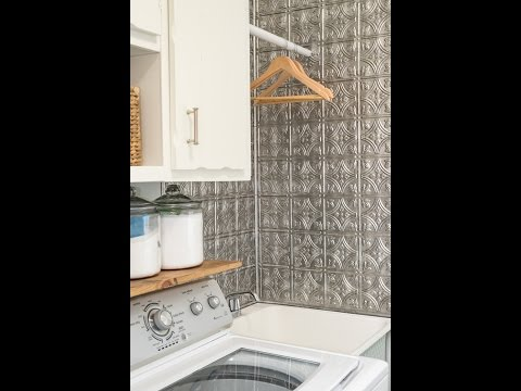 How To Make Your Hassle Free Laundry Room Backsplash