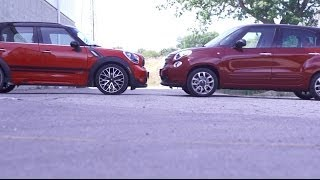 Compared Fiat 500l Vs Countryman Jcw