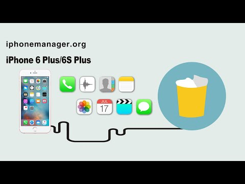 How to Permanently Remove Deleted Data from iPhone 6 Plus/6S Plus by Data Remover