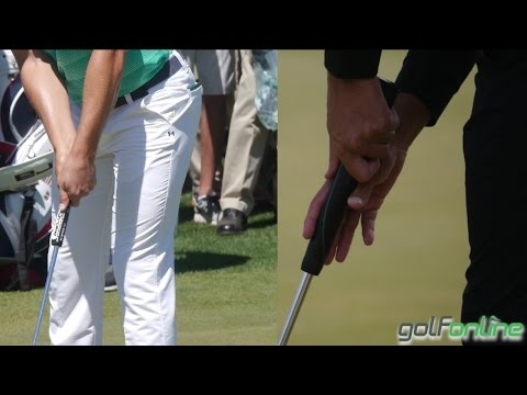 Golf lessons with Mark Crossfield, How To Hold The Putter