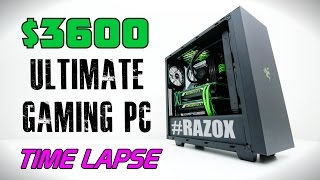 $3600 Ultimate Gaming PC - Time Lapse Build