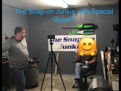 THE SNAP ON JUNKIE WITH SPECIAL GUEST