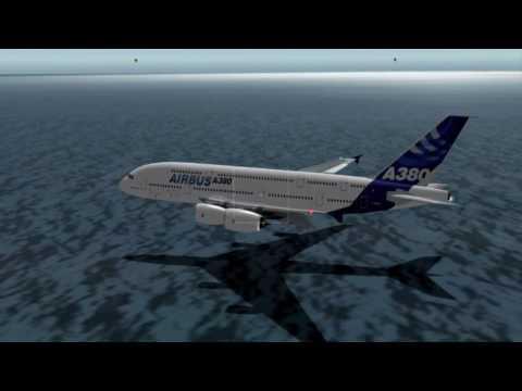 Airbus A380 Water Landing
