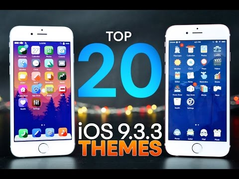 Top 20 Jailbreak Themes For iOS 9.3.3!