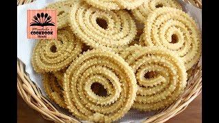 Download सूजी और चावल के आटे से बनाइये क्रिस्पी चकली   instant chakli recipe