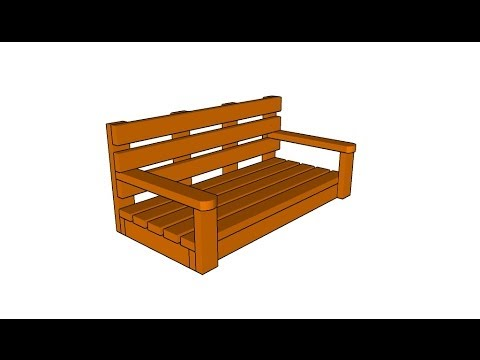 How to build a porch swing
